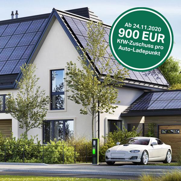 Schweigatz Photovoltaik plus Wärmepumpe Wallbox E-Auto